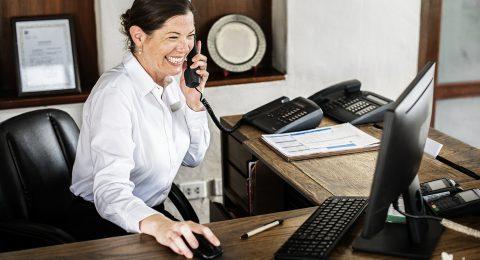 Réceptionniste en hôtellerie